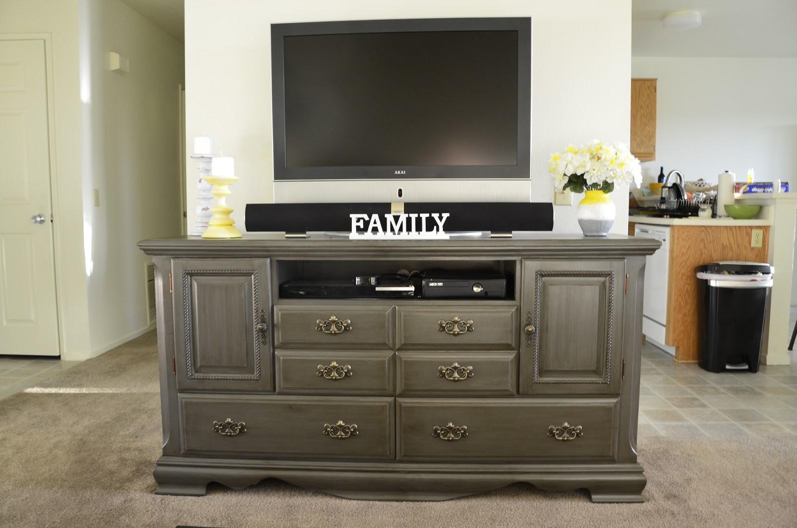 DIY Dresser as TV Stand