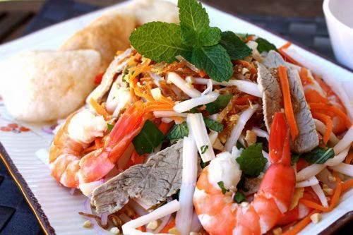 Vietnamese Salad Recipes - Gỏi ngó sen tôm thịt