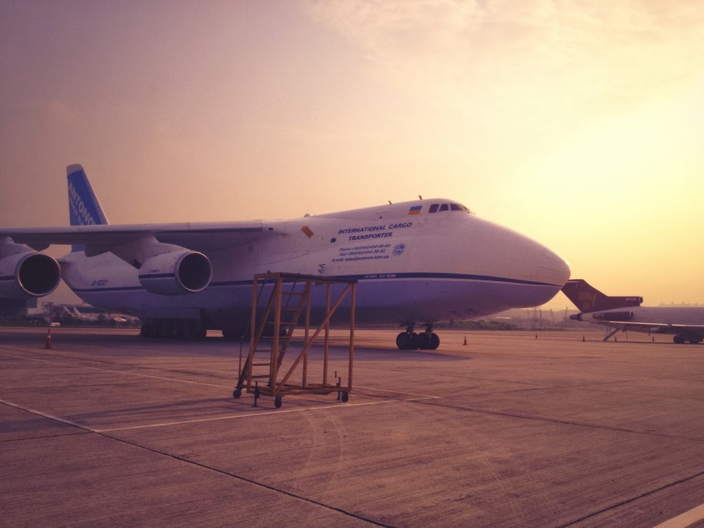ANTONOV AN-224 SPOTTED IN SZB WOW