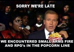Brian Williams Popcorn Comment