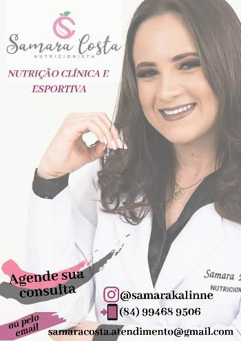 Drª Samara Costa - Nutricionista