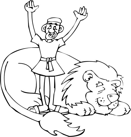 Free Coloring Pages Of Daniel 4