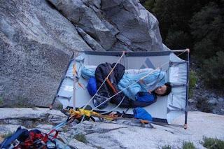 Como dormem os alpinistas?