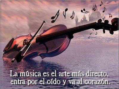 Imagenes Con Bonitos Mensajes Sobre La Musica