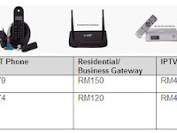 Revised UniFi Customer Premise Equipment (CPE) Replacement Pricing