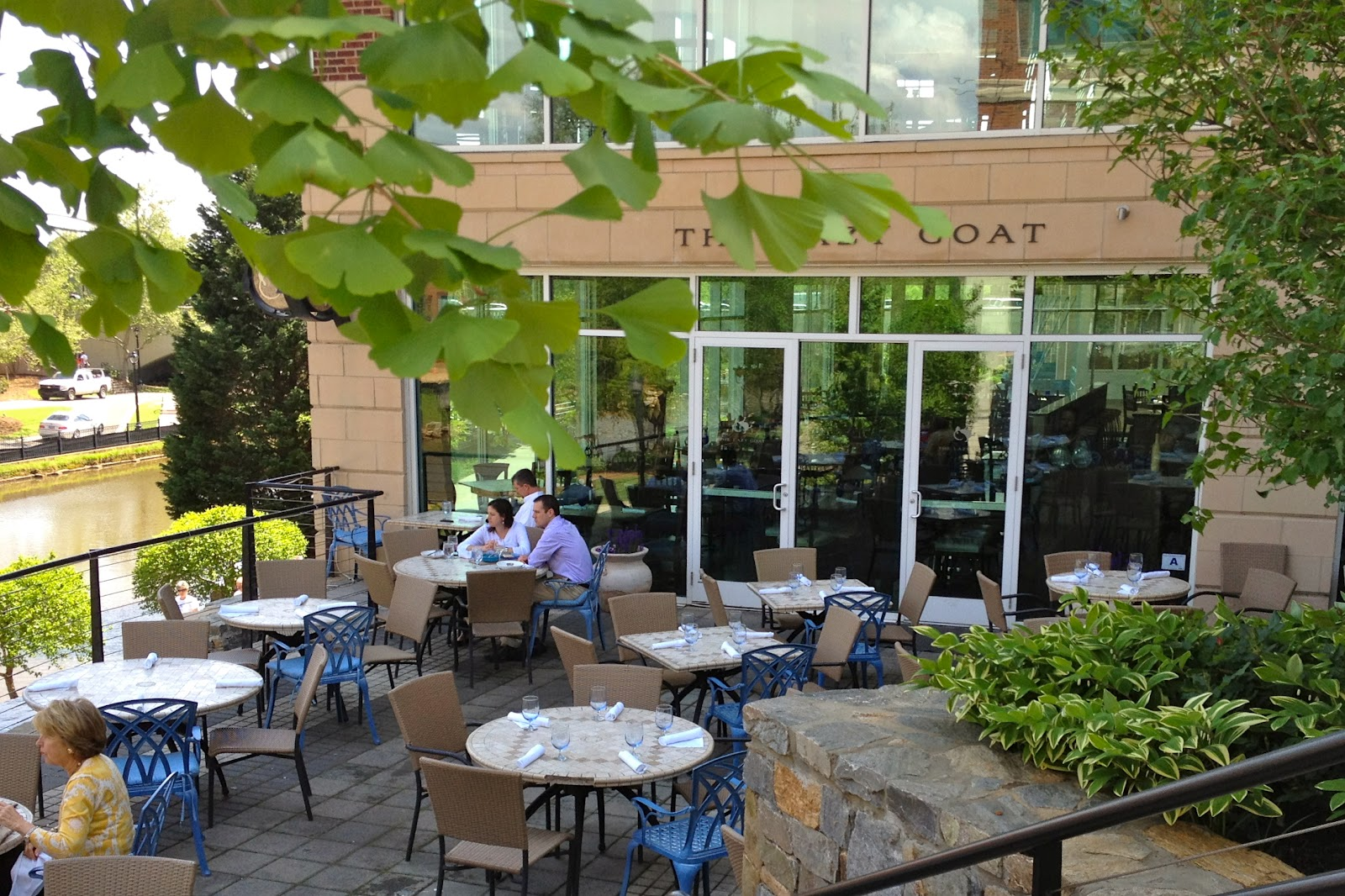 The Patio At Lazy Goat