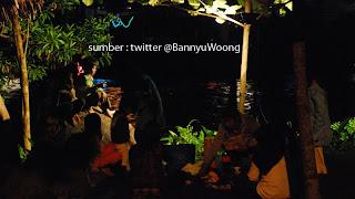 Menikmati Malam di Sungai Serayu