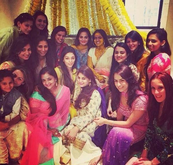 Salman's sister Arpita Khan's mehendi ceremony