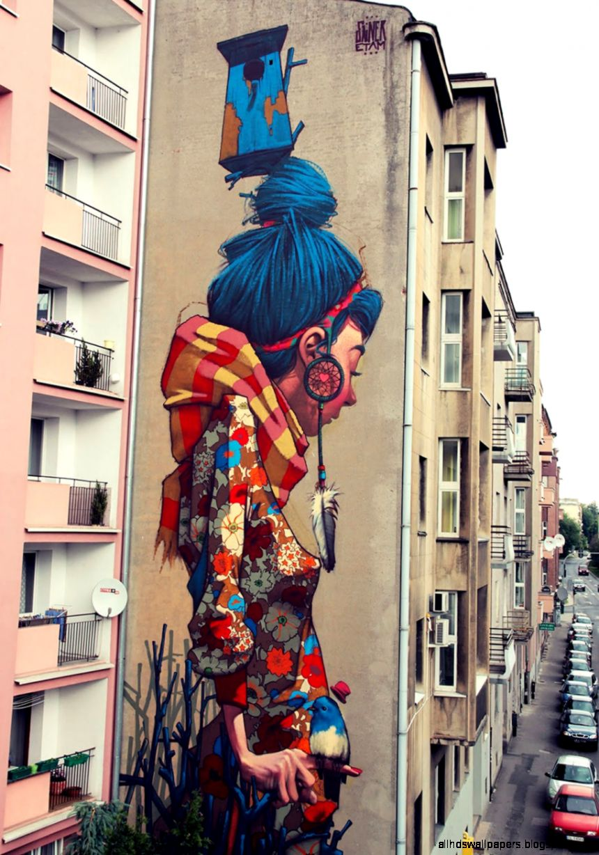 Graffiti Street Art Murals   WALLPAPER HD