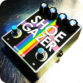 The Shoe Gazer Fuzz Guitar Effects Pedal by Devi Ever.