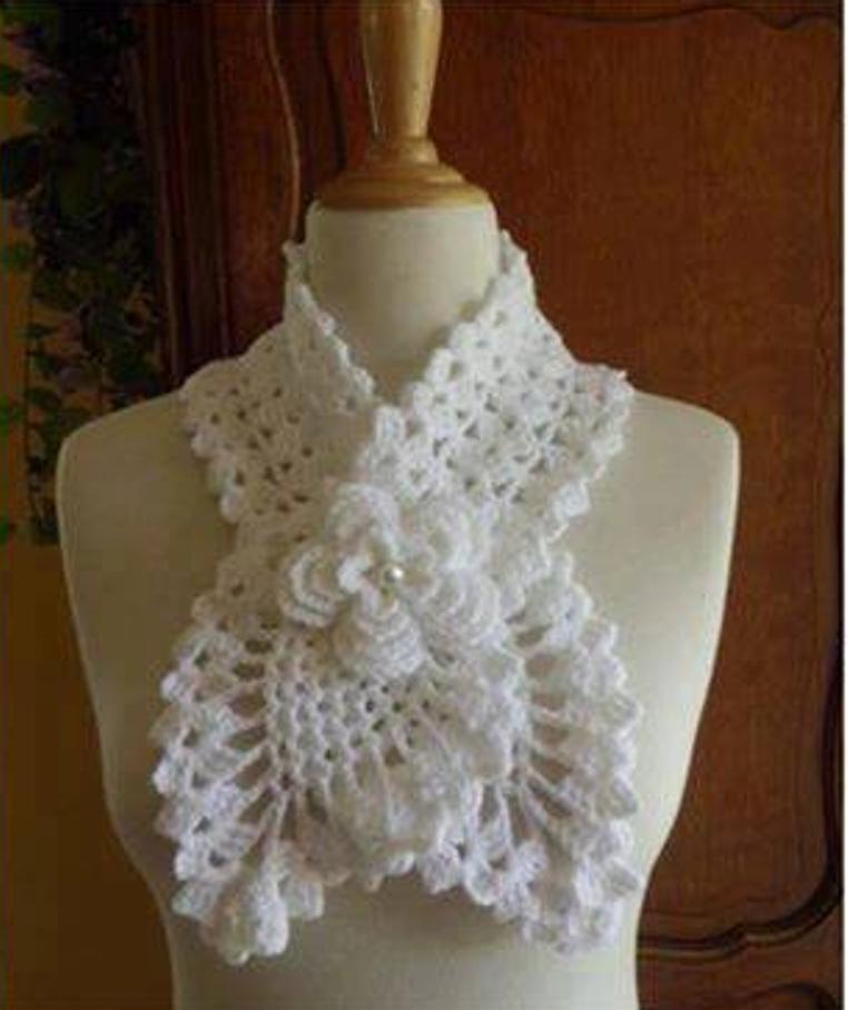 Bufanda o Cuello a Crochet