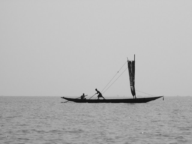 Fishermen on Chilka Lake, Odhisa, India