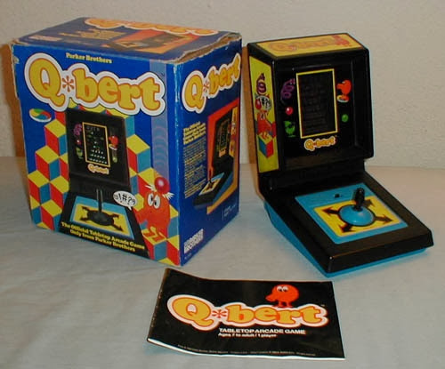 Q*Bert Handheld Game