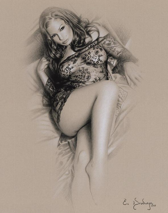 Fotografa de retrato, glamour y desnudo adStudio