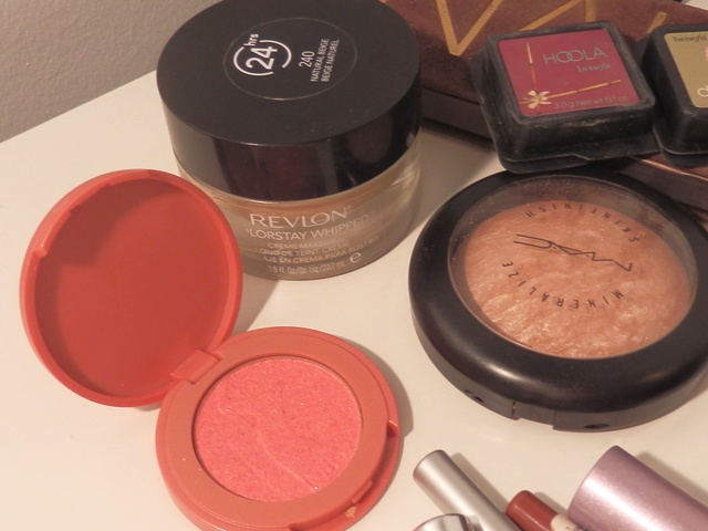 Revlon ColorStay, Tarte Amazonian Clay, MAC Soft & Gentle