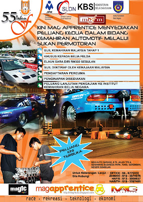 MAG1C@SIJIL KEMAHIRAN MALAYSIA TAHAP 1, KHUSUS BUAT BELIA FELDA