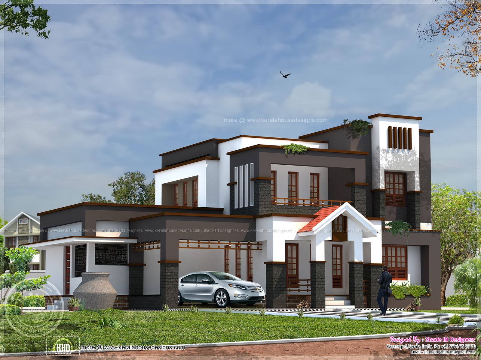 House design for 60 square meter - 232 Square Meter 5 Bedroom House Exterior