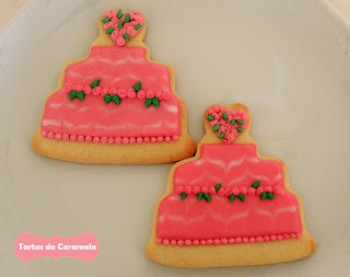 Galletas decoradas: tartas