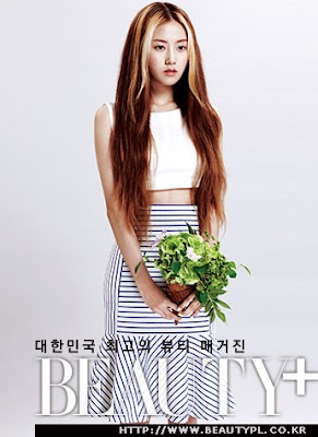 Gayoon 4minute Beauty+ Magazine July 2013