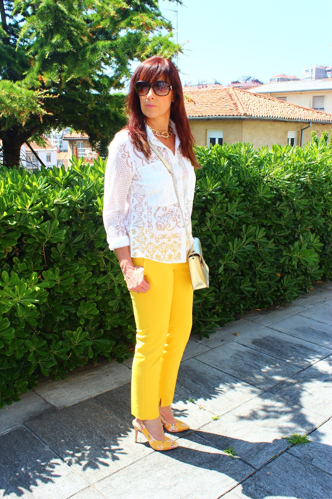 Br jula de estilo mis looks pantal n amarillo - Brujula de estilo ...