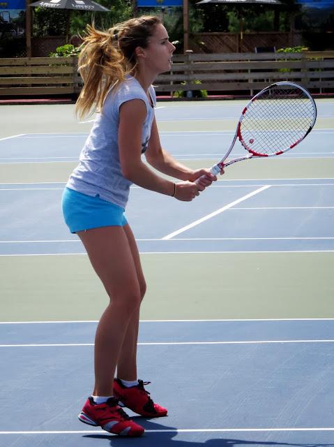 Alize Cornet Rogers Cup 2013