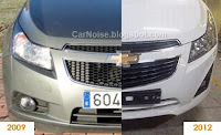 Spy Photo: 2012-2013 Chevrolet Cruze Facelift Comparison