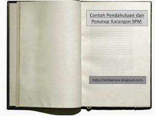 Karangan Bahasa Melayu