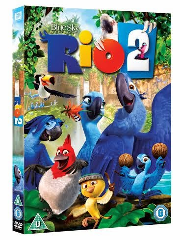 Rio 2 DVD packaging cover shot