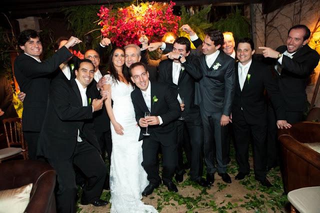 noiva, convidados
