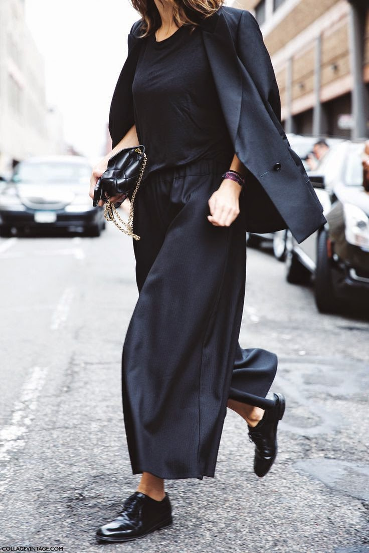 Street Style Fashion Gaucho Pants trend