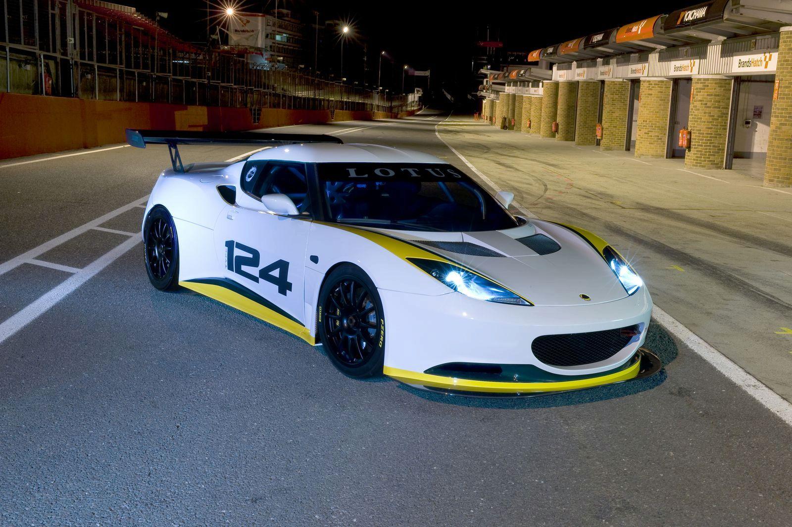 Ant Walpaper: 2010 lotus evora cup race car