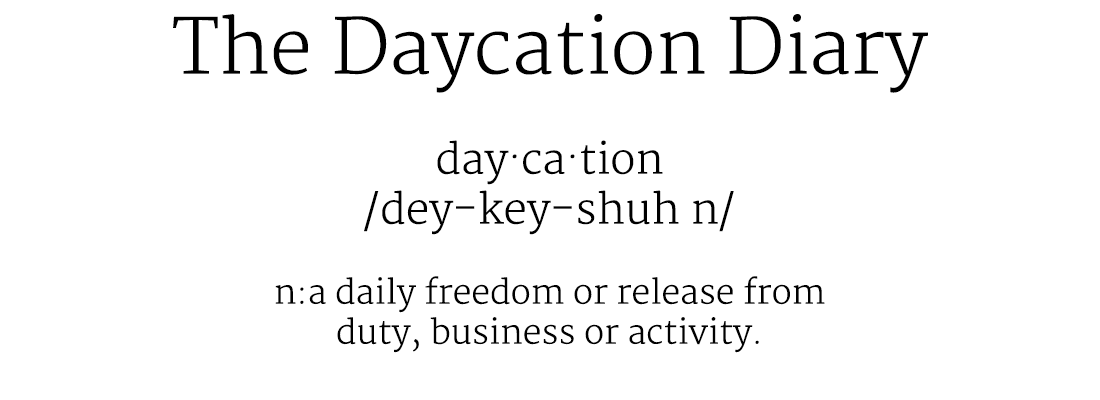 The Daycation Diary