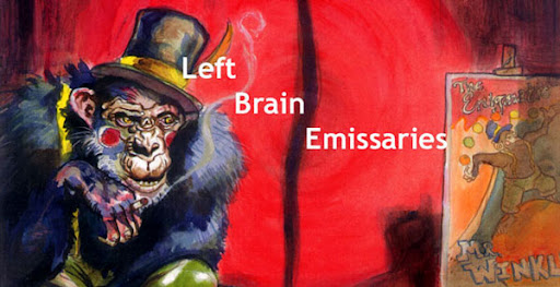 left brain emissaries