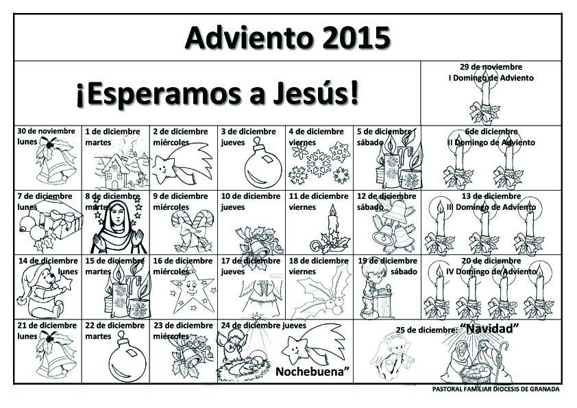 Blog para una Navidad Feliz: Calendarios de Adviento 2015 para ...