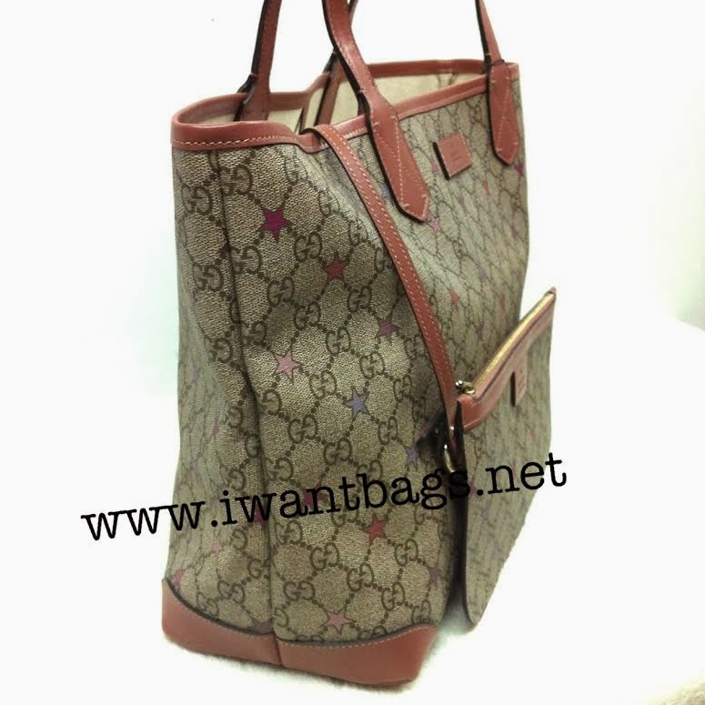 Gucci Limited Edition Star Tote with Pouch
