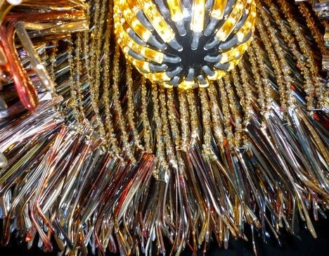 """Fat Urchin"" eyeglass optical lens art sculpture lighting by Stuart Haygarth"