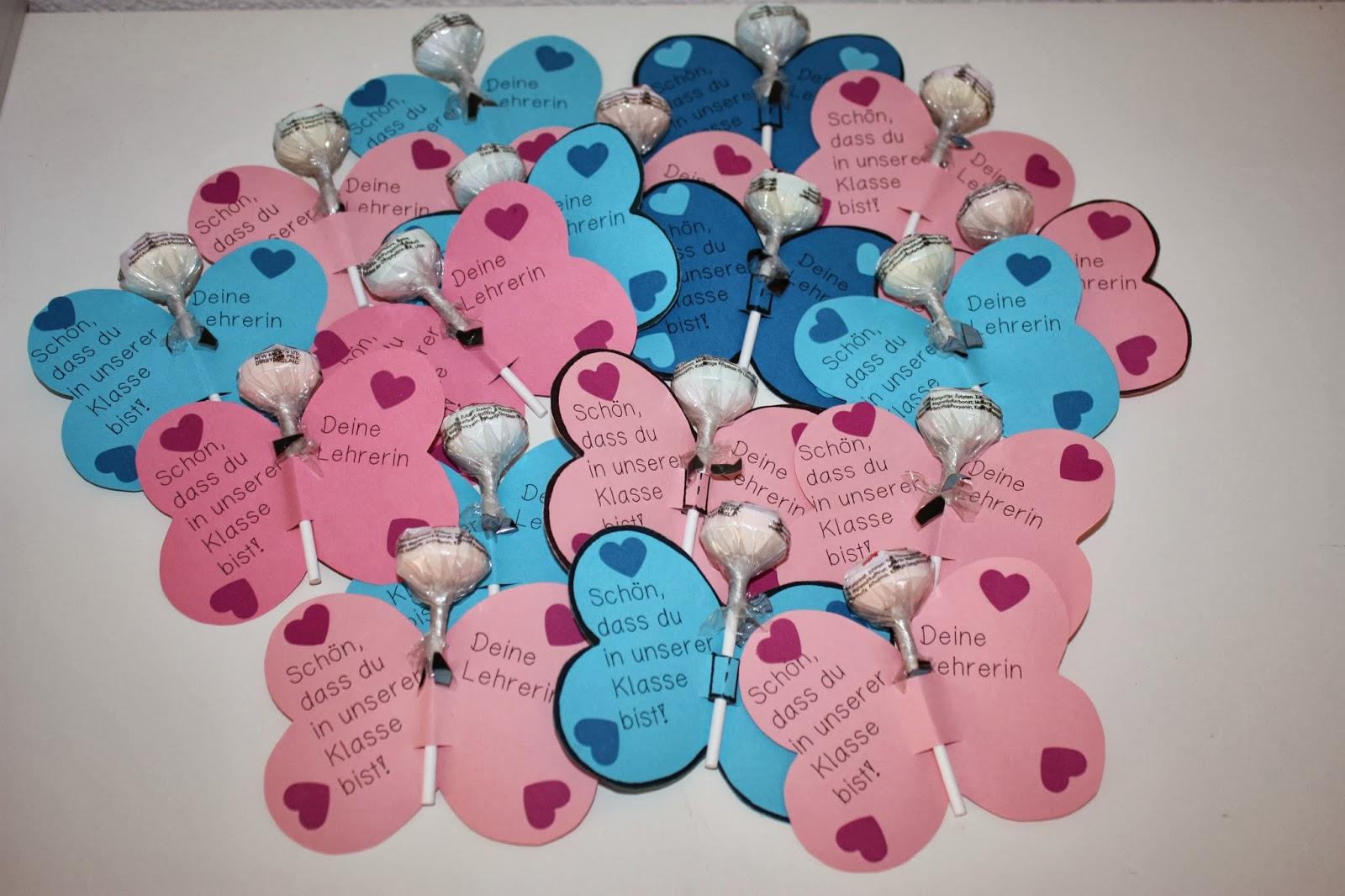 Und Ja, Jch Habe Einfach Alle Klischees Bedient: Ein Valentinsgeschenk UND  Das Auch Noch In Rosa Für Mädchen Und In Blau Für Jungs.
