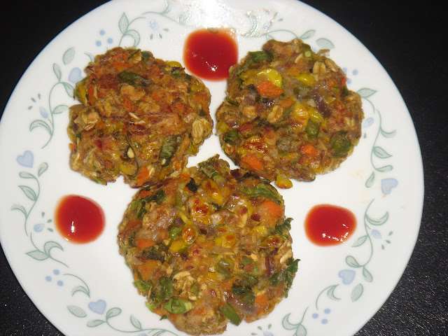 Baked Vegetable patties