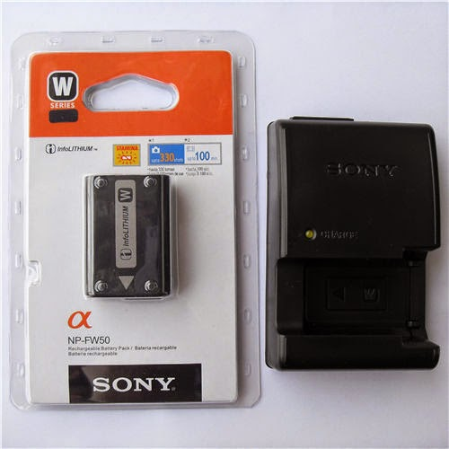 NP-FW50 Battery & BC-VW1 Charger F Sony Alpha NEX-3 3C 3D 3DW 3K 5 5K 5C 5DB 5HB