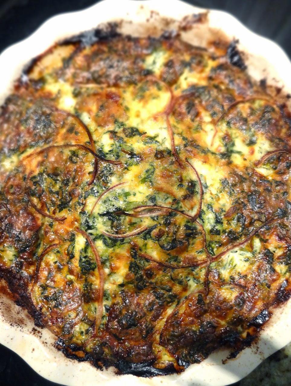 Scrumpdillyicious: Fluffy Cheddar & Spinach Soufflé-Frittata