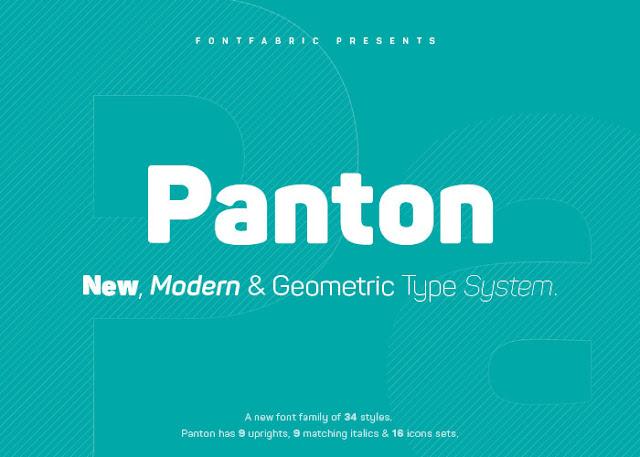 download panton free font