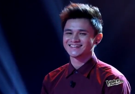 Paolo Onesa of The Voice of the Philippines
