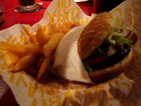 Bacon and Swiss Hamburger