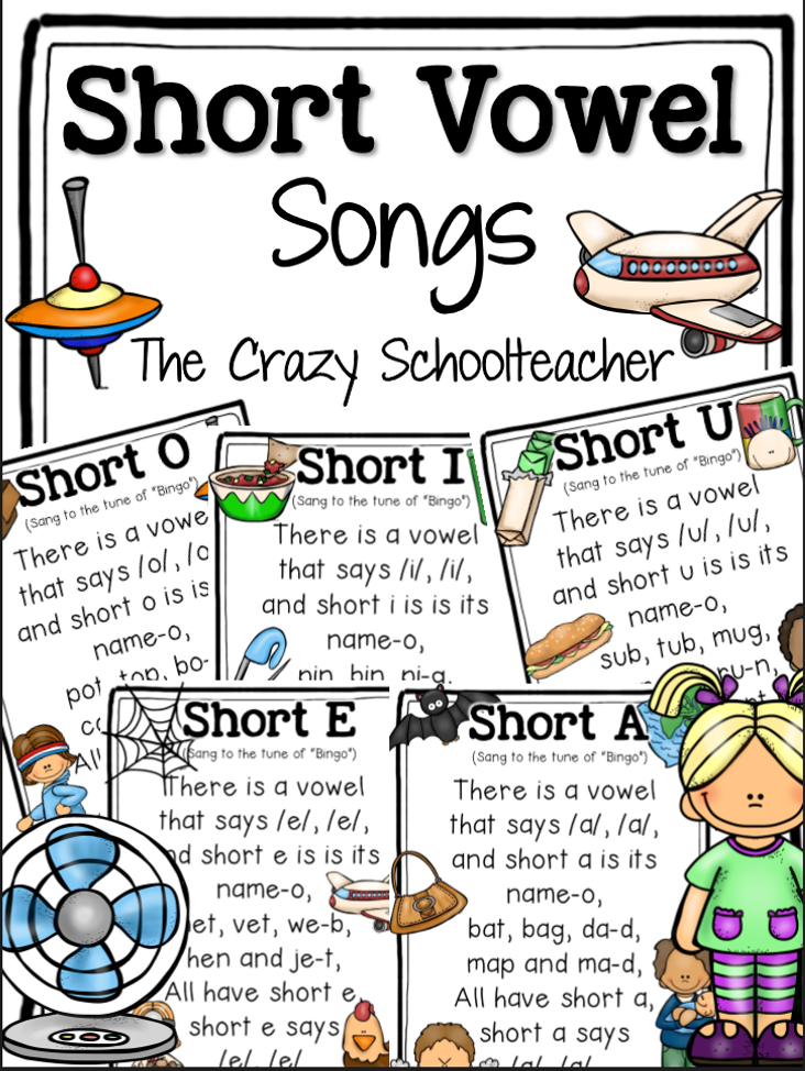 http://www.teacherspayteachers.com/Product/Short-Vowel-Songs-1260915