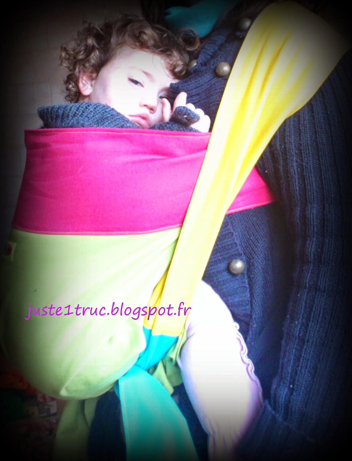 podeagi froid hiver soleil chaleur portage babywearing