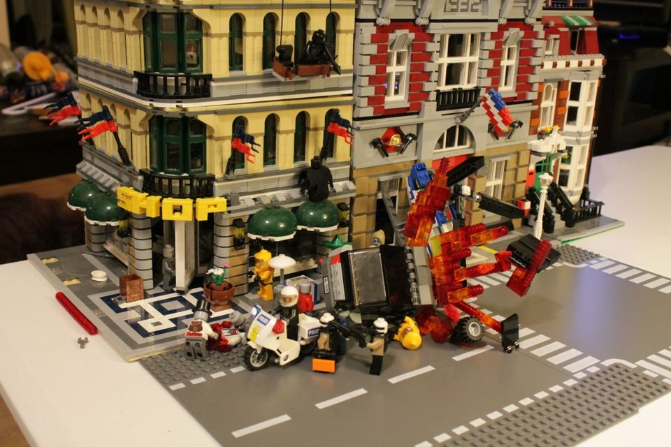 The Monster Within Idea: Lego Zombie Apocalypse build for IF GOD ...
