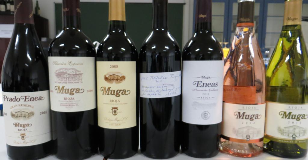 vinos rioja muga: