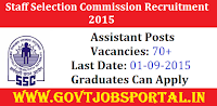 BIHAR SSC RECRUITMENT 2015