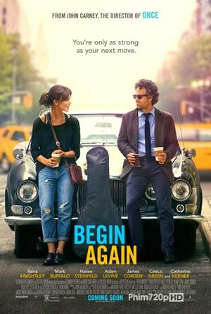 Begin Again 2013 poster