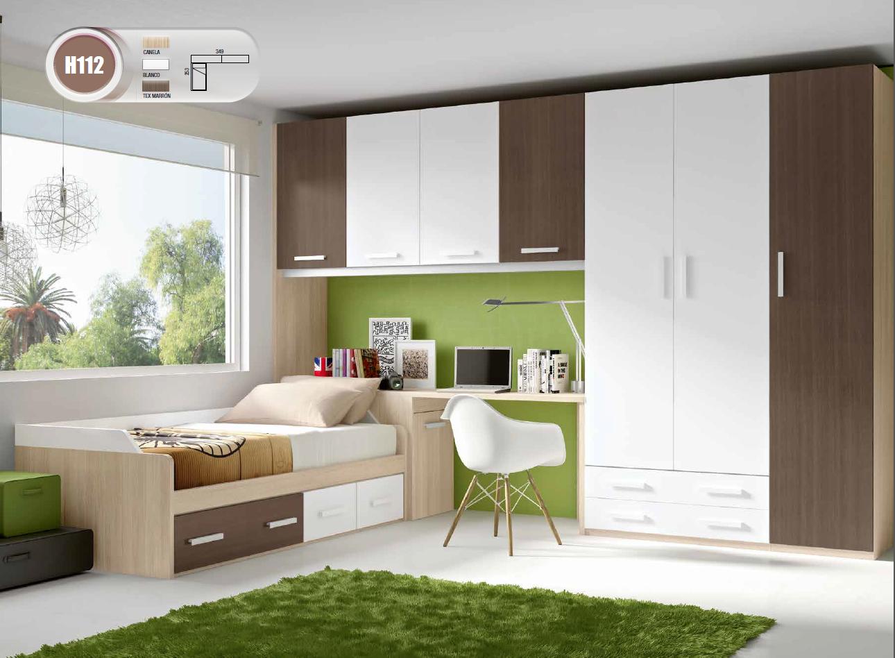 Dormitorios juveniles b sic de glicerio chaves mobles - Decoracion de dormitorios juveniles pequenos ...